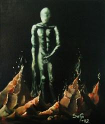 """""""Skam"""", Akryl. 2012"""