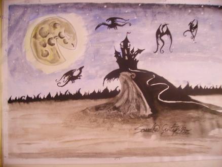 Akvarell, 2006, SÅLD