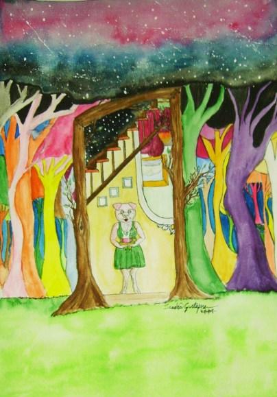 """""""I slutet av skogen"""" 2008"""